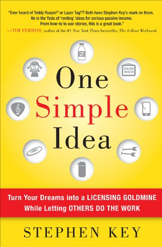 0071756159 : One Simple Idea: Turn Your Dreams into a Licensing Goldmine While Letting Others Do the Work