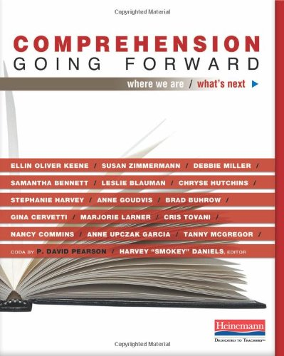 0325041636 : Comprehension Going Forward: Where We Are and What's Next