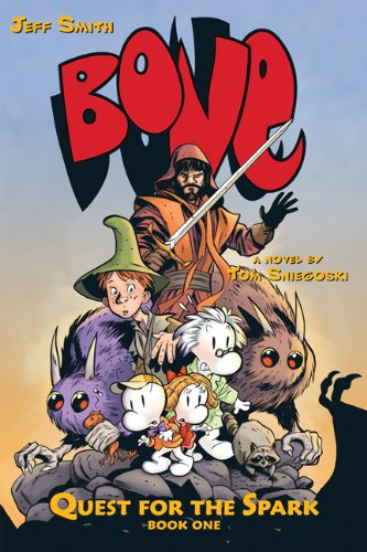 0545141028 : Quest For The Spark #1 (Bone)
