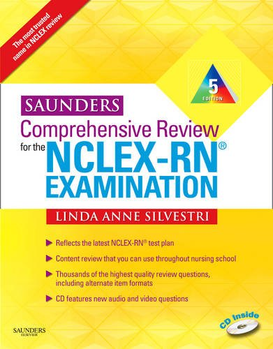 1437708250 : Saunders Comprehensive Review for the NCLEX-RN? Examination (Saunders Comprehensive Review for Nclex-Rn)