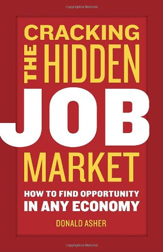 158008494X : Cracking The Hidden Job Market: How to Find Opportunity in Any Economy